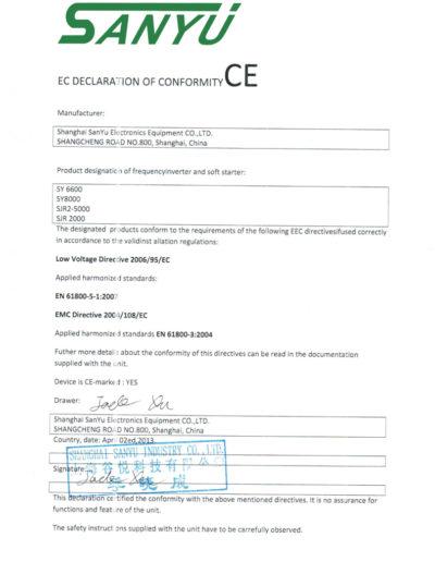 CE_certificateSANYU_all