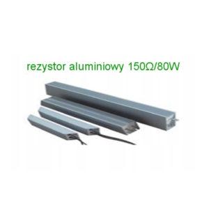 rezystor hamujacy aluminiowy 150ohm 80w
