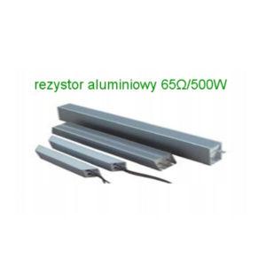 rezystor hamujacy aluminiowy 65ohm 500w