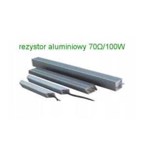 rezystor hamujacy aluminiowy 70ohm 100w